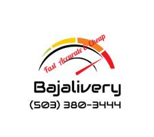 """Bajaliver Logo Car Decal 27""""W x 24""""H"""