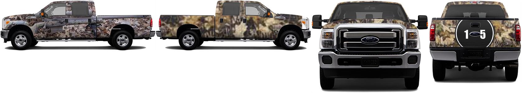 Truck Wrap #36992