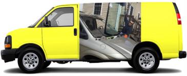 Trust Auto glass Cargo Van Wrap