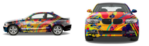 Sports Coupe Wrap