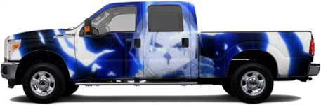 fullmetal 1 Truck Wrap