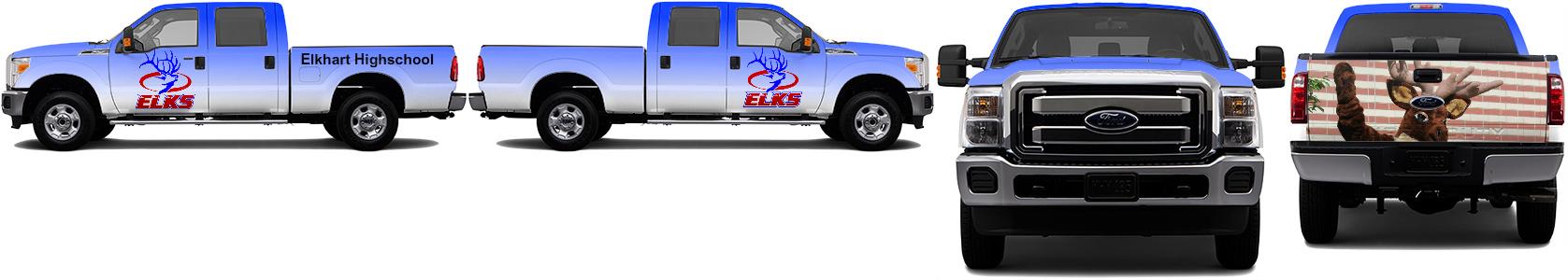 Truck Wrap #49339