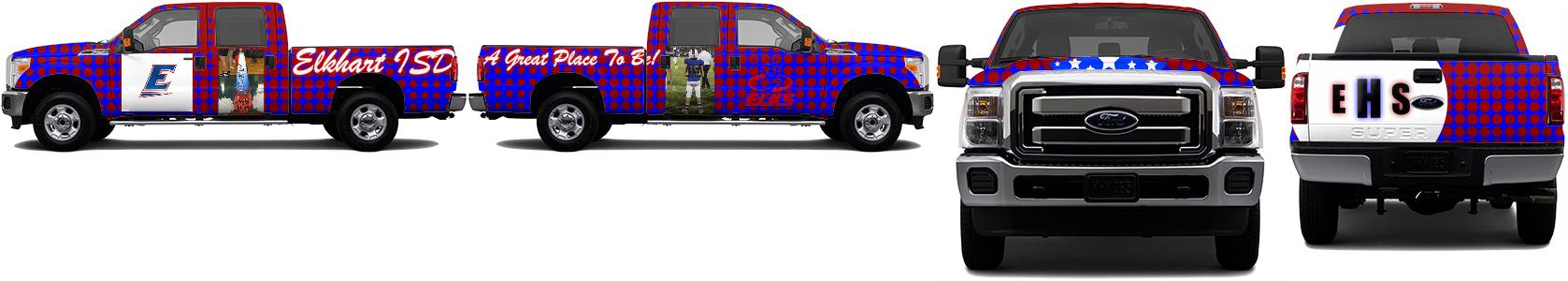 Truck Wrap #49366
