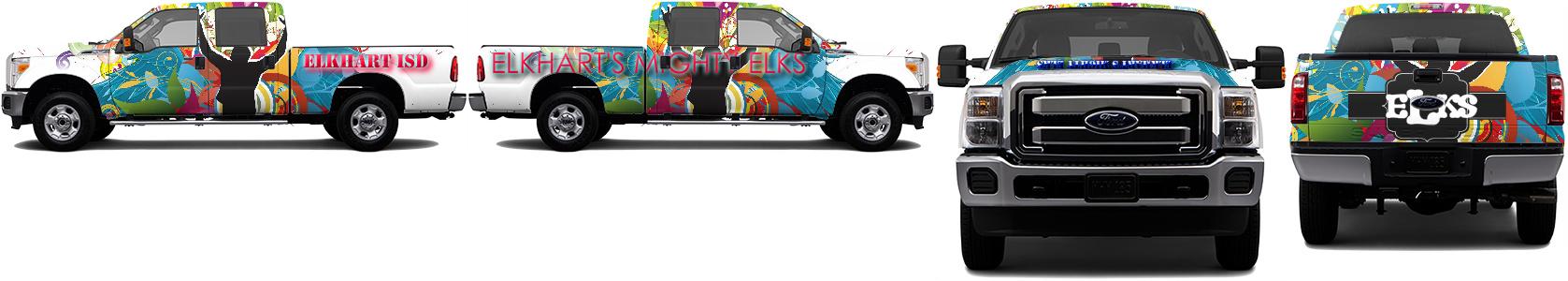 Truck Wrap #49353