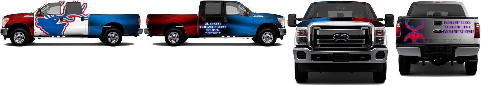 Truck Wrap #49372