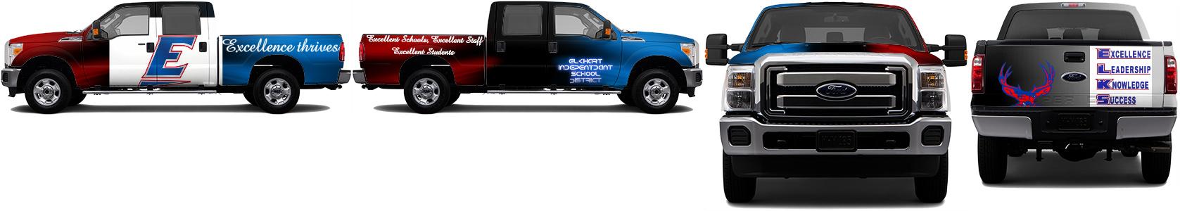 Truck Wrap #49398