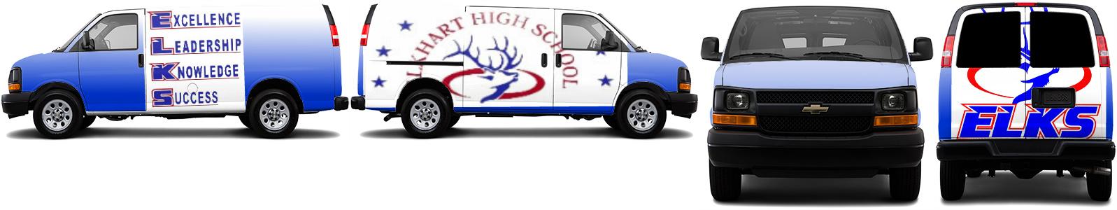 Cargo Van Wrap #49401