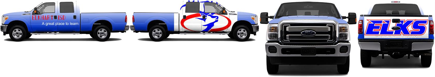 Truck Wrap #49419