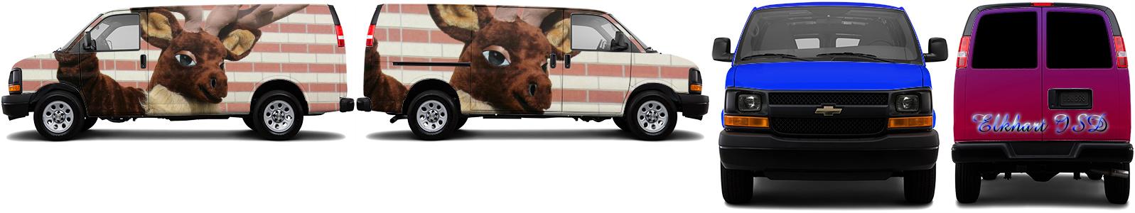 Cargo Van Wrap #49421