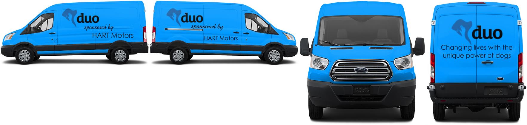 Transit Van Wrap #49612