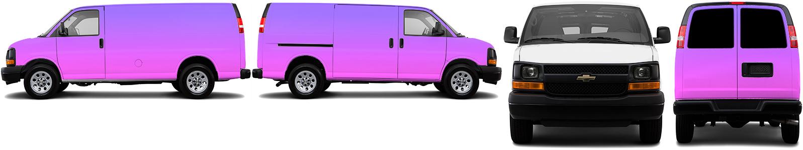 Cargo Van Wrap #49644