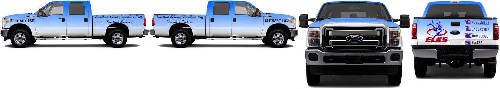 Truck Wrap #49510