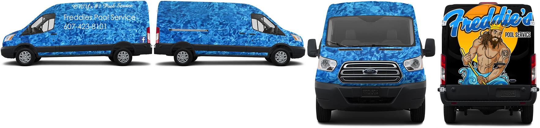Transit Van Wrap #49505
