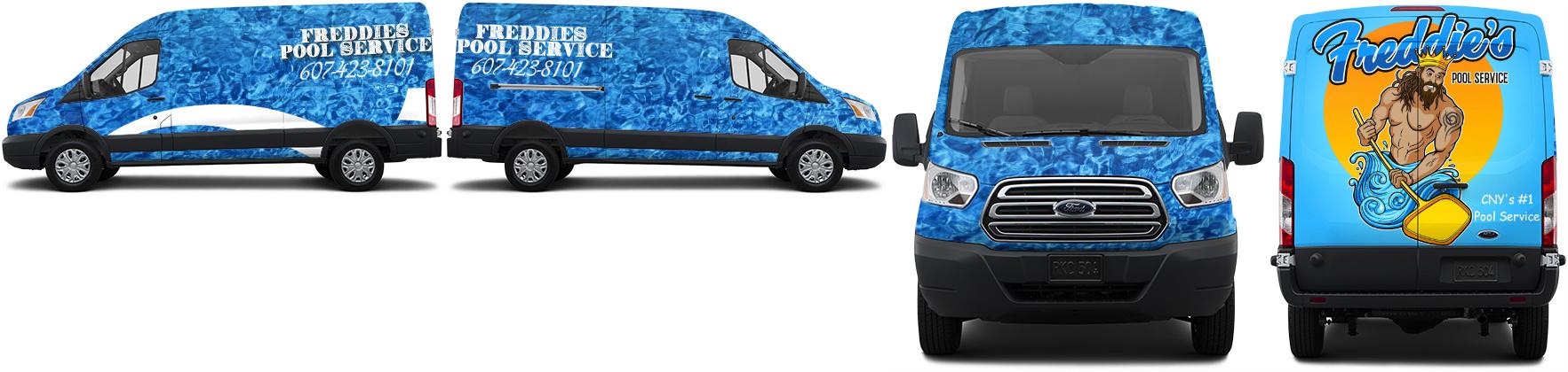 Transit Van Wrap #49518
