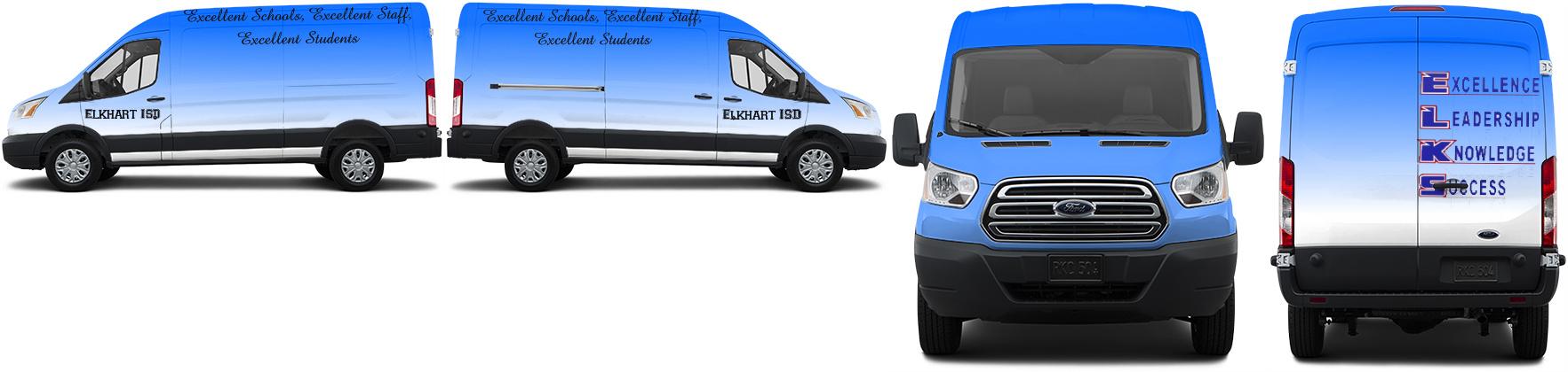 Transit Van Wrap #49523