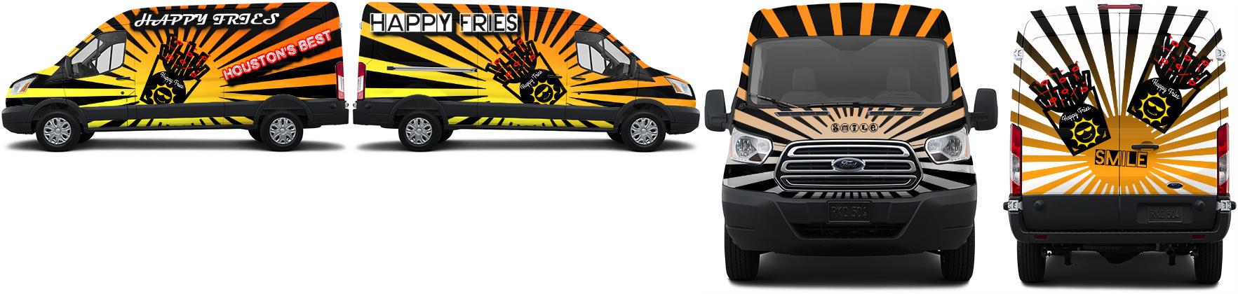 Transit Van Wrap #49715