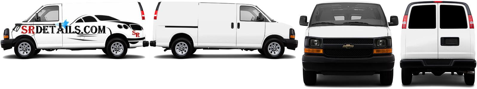 Cargo Van Wrap #50045