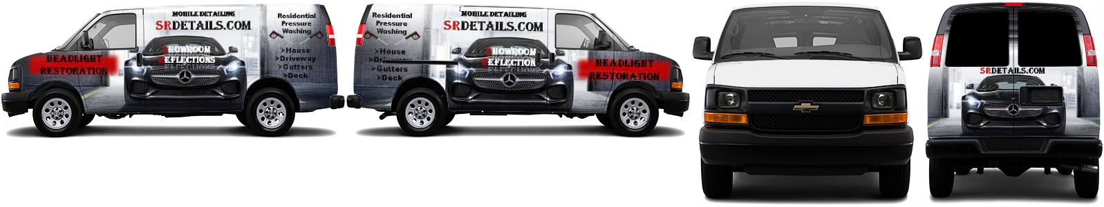 Cargo Van Wrap #50074