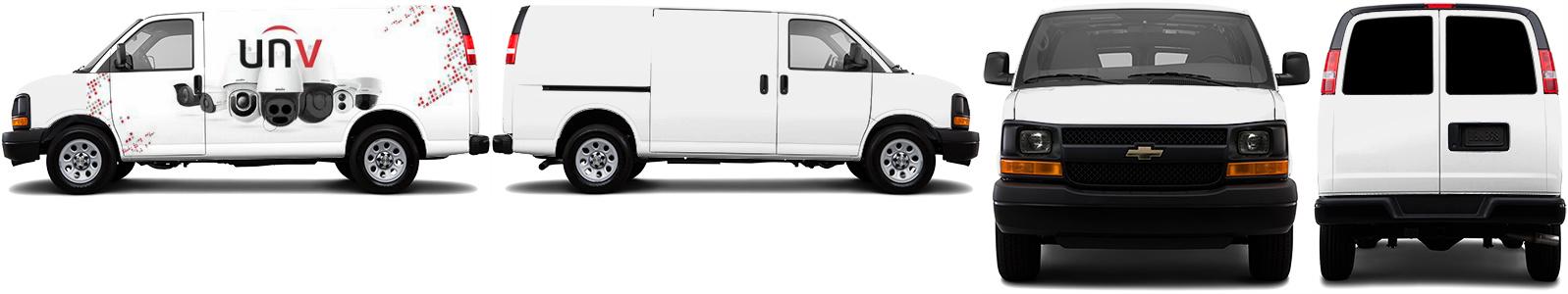 Cargo Van Wrap #46698