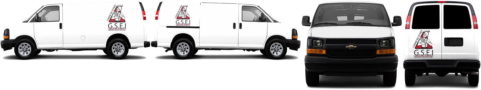 Cargo Van Wrap #46852