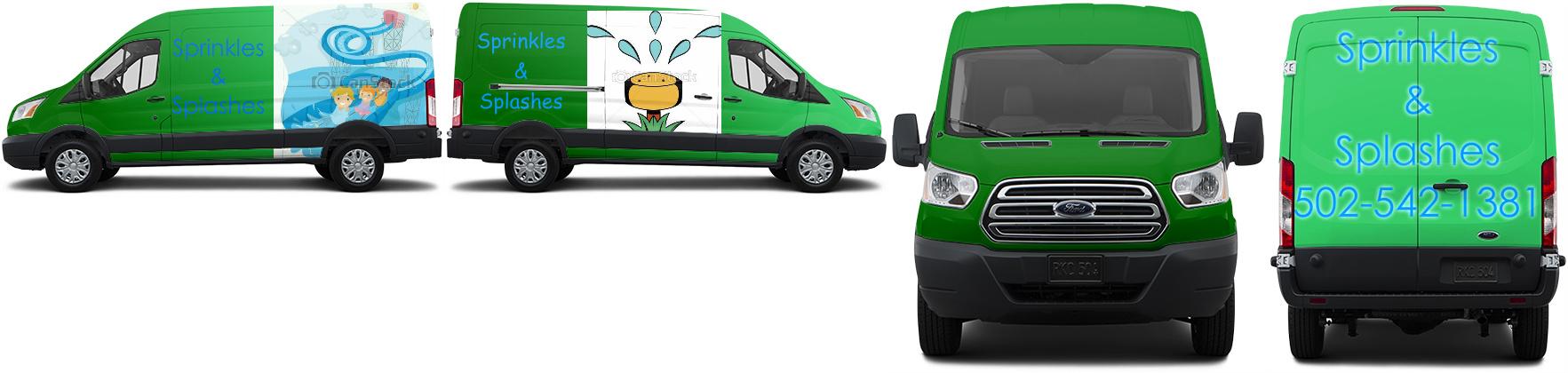 Transit Van Wrap #47195
