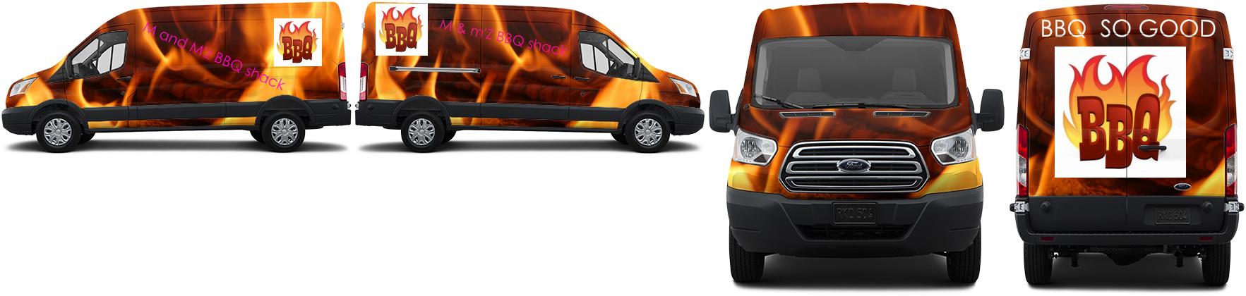 Transit Van Wrap #46995