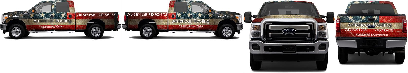 Truck Wrap #47607