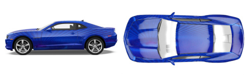 Ultra Violet 2 Muscle Car Wrap