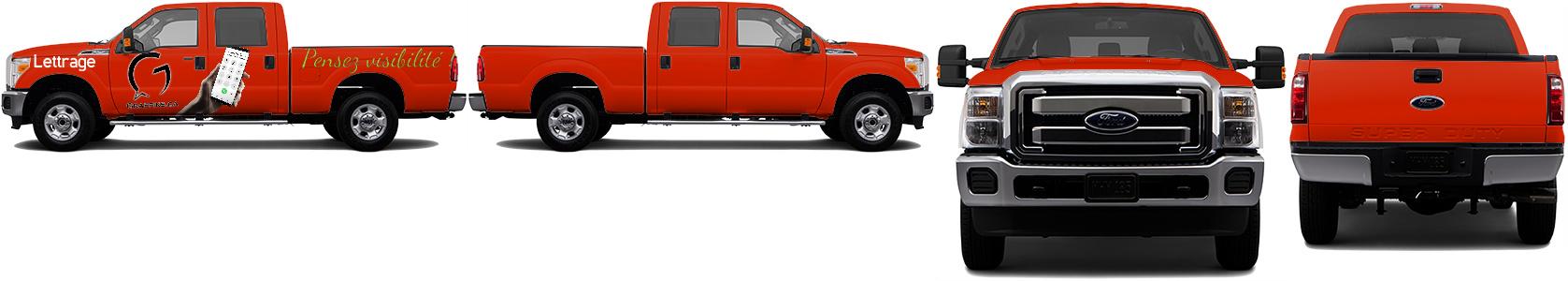 Truck Wrap #48285