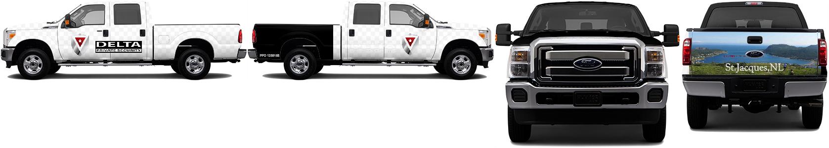 Truck Wrap #48422