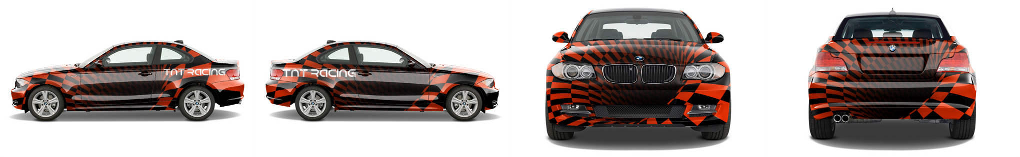 Sports Coupe Wrap #48585