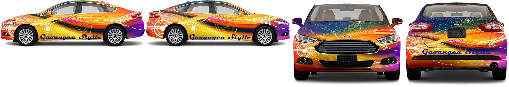 Sedan Wrap #48642