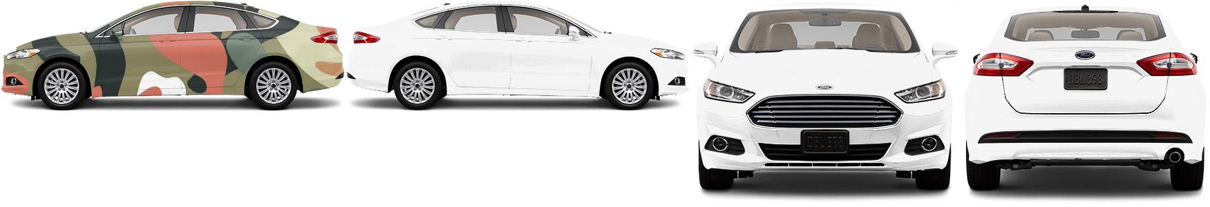 Sedan Wrap #48675