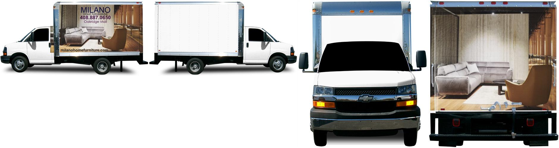 Box Truck Wrap #48747