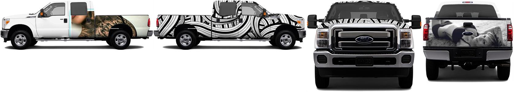 Truck Wrap #48510