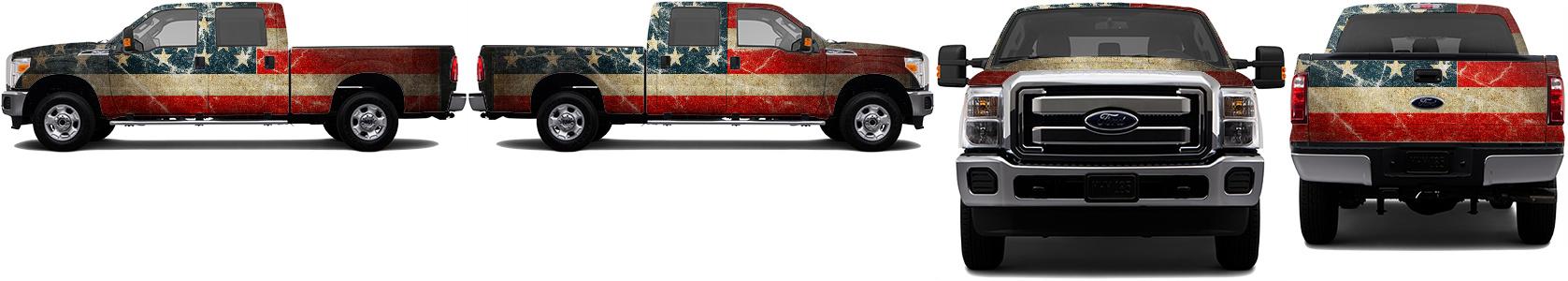 Truck Wrap #48869