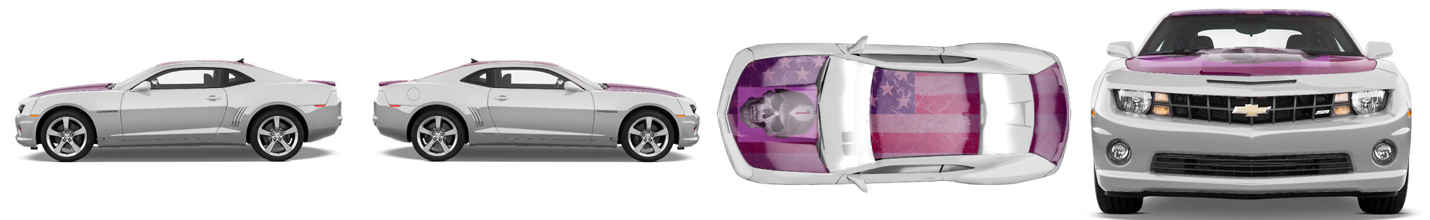 Muscle Car Wrap #50127