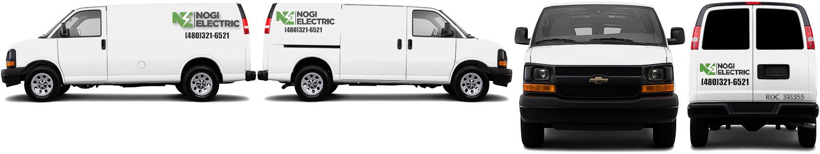 Cargo Van Wrap #50631