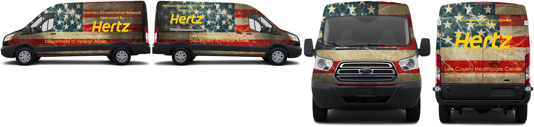 Transit Van Wrap #51011