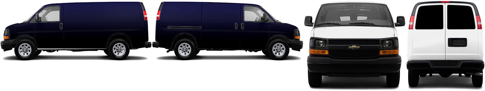 Cargo Van Wrap #51058