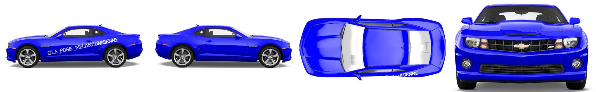 Muscle Car Wrap #51211