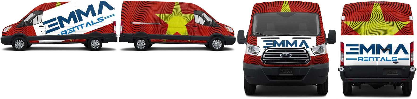 Transit Van Wrap #50855