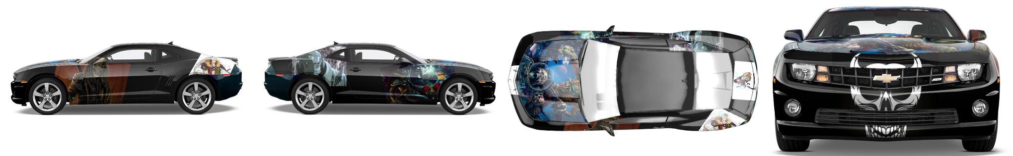 Muscle Car Wrap #50869