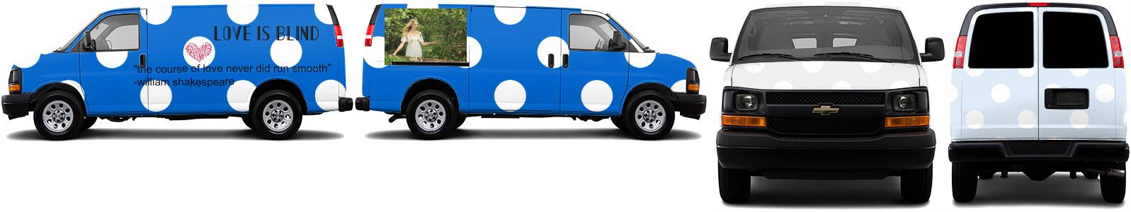 Cargo Van Wrap #51448