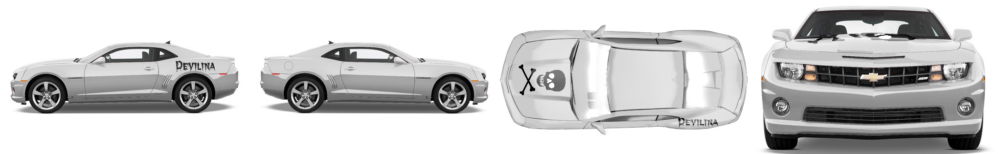 Muscle Car Wrap #51744