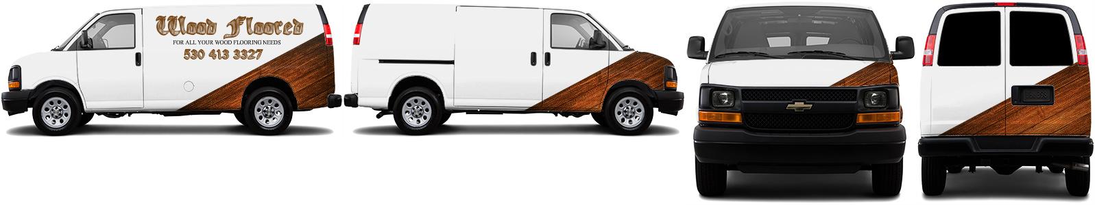 Cargo Van Wrap #52097