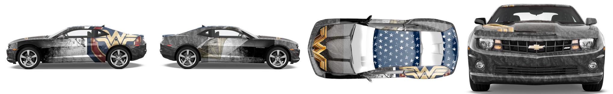 Muscle Car Wrap #52125
