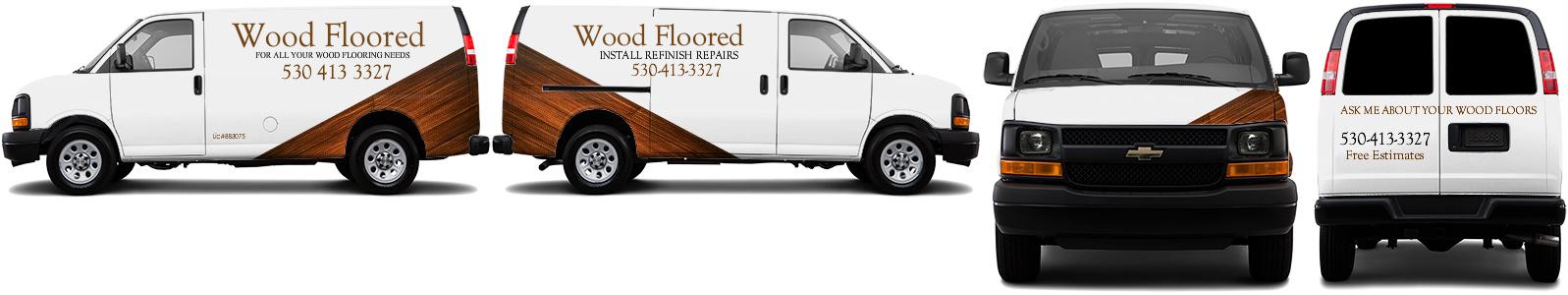 Cargo Van Wrap #52158