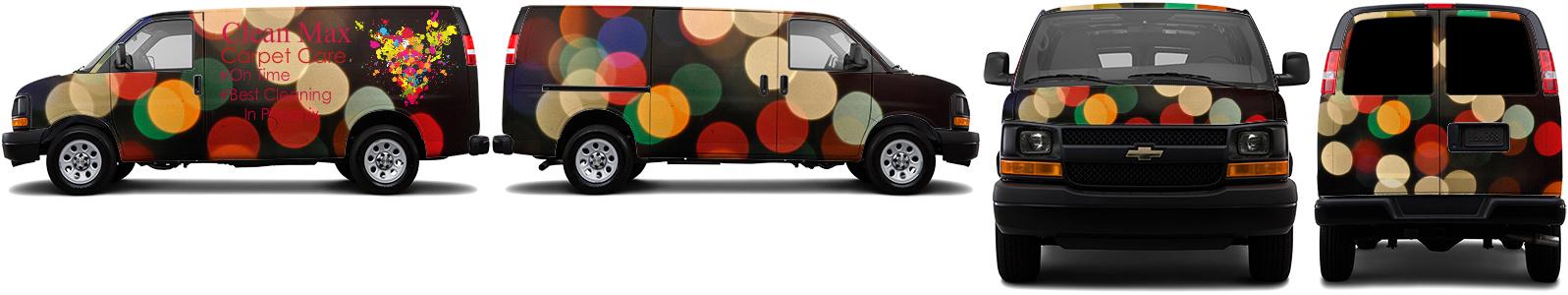 Cargo Van Wrap #51823