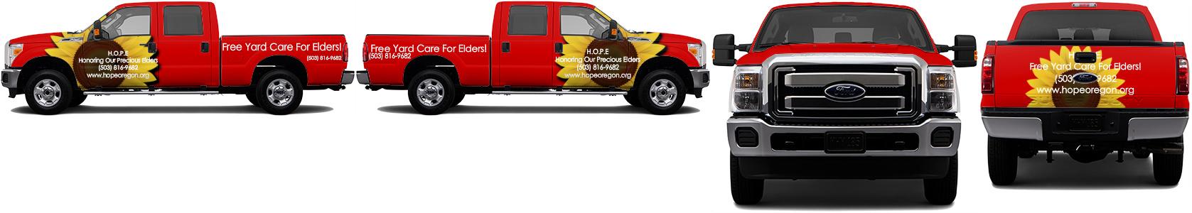 Truck Wrap #52441